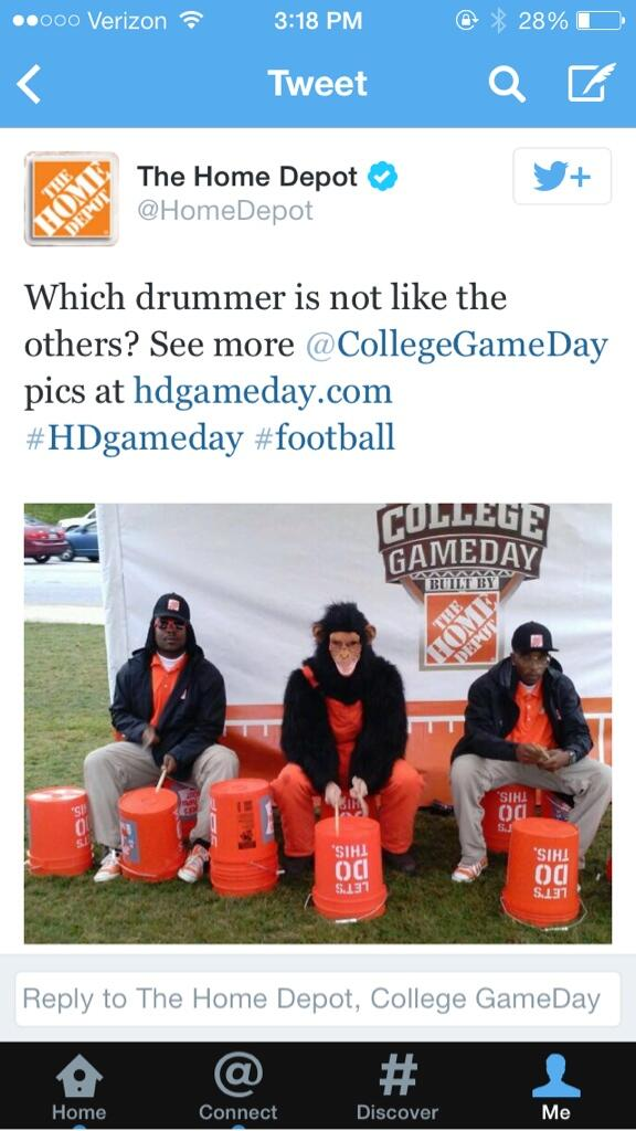 Home Depot Tweets Racist Photo, Scrambles To Apologize